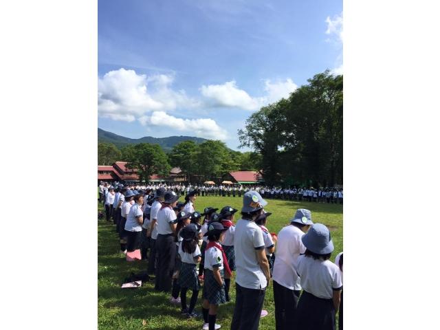 愛知県連盟60周年記念戸隠キャンプ